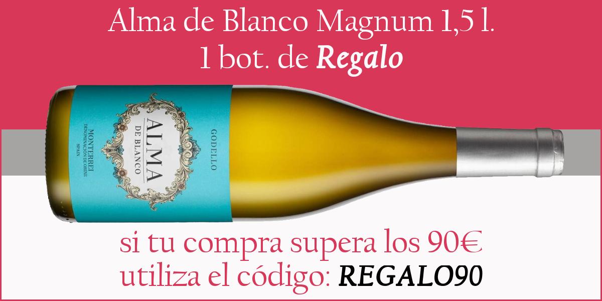 Magnum Alma de Blanco Godello de Regalo
