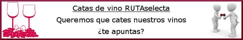 Catas de vino en RUTAselecta
